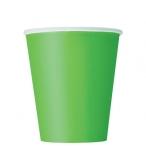 Pappersmuggar 266ml 8p Lime 16kr