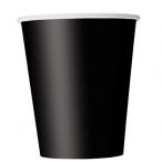 Pappersmuggar 266ml 8p Black 16kr