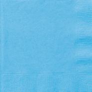 Servetter 2-lags 20p Powder blue 15kr