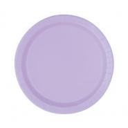 Papperstallrikar 17,1cm 8p Lavender 15kr