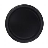 Papperstallrikar 17,1cm 8p Black 15kr