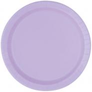 Papperstallrikar 22,9 cm 8p Lavender 18kr