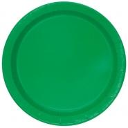 Papperstallrikar 22,9 cm 8p Emerald 18kr