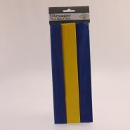 Silkespapper blågul 10ark 50x70cm 29kr