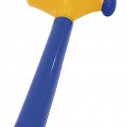 Hammare uppblåsbar gulblå 39kr