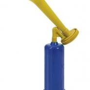 Pumptuta gulblå 35cm 53kr