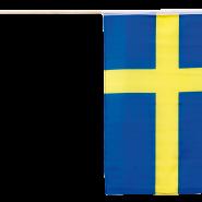 Svensk flagga 30x40cm 30kr