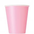 Pappersmuggar 266ml 14p Lovely pink 18kr