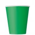 Pappersmuggar 266ml 8p Emerald 16kr
