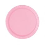 Papperstallrikar 17,1cm 8p Lovely pink 15kr