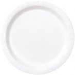 Papperstallrikar 22,9 cm 8p Bright white 18kr