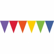 Vimpel rainbow 4,5m 29kr