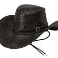 BESTÄLLNINGSVARA Cowboyhatt svart (ormskinn) 89kr