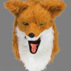 BESTÄLLNINGSVARA Deluxe(rörlig käke) animal mask fox 929kr