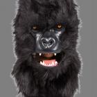 BESTÄLLNINGSVARA Deluxe(rörlig käke) animal mask gorilla 929kr