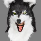 BESTÄLLNINGSVARA Deluxe(rörlig käke) animal mask wolf 929kr