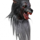 BESTÄLLNINGSVARA latexmask Black werewolf 1499kr