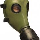 BESTÄLLNINGSVARA Latexmask Gas green öppen baksida resårband 499kr