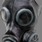 BESTÄLLNINGSVARA latexmask Gas smoke black 349kr