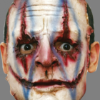 BESTÄLLNINGSVARA Latexmask Serial killer 04 öppen baksida resårband 229kr
