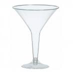 Fullstora Martiniglas av plast 235ml 20st 169kr