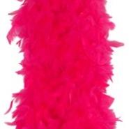 Hot pink fether boa 59kr