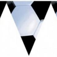 Vimpel fotboll 3,65m 39kr