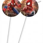Sugrör Spiderman 6st 45kr