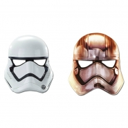 Masker Starwars stormtrooper 6st 43kr