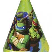 Partyhattar Turtles 6st 34kr