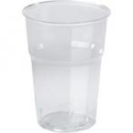 Plastglas 39cl Duni 50st 39kr
