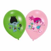 Ballonger 27.5cm 6st 4färgstryck Trolls 46kr