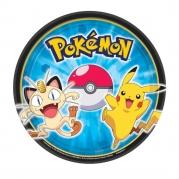 Papperstallrikar 18cm 8st Pokemon 37kr
