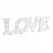 Led light up 16x50cm LOVE 329kr
