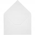 Kuvert, stl. 11,5x16 cm, 100 g, vit, 10st 24kr