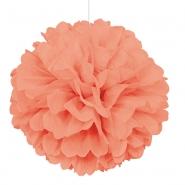 Pompom 40cm coral 29kr
