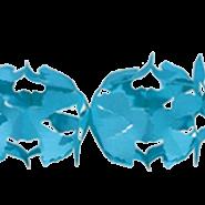 Pappersgirlang 6m blå 39kr