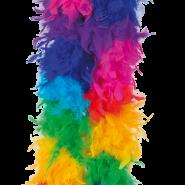 Rainbow feather boa 129kr