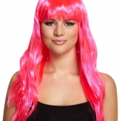 Peruk long pink 85kr