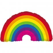 Folieballong supershape 91,5cm rainbow 85kr