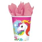 Pappersmuggar 266ml 8p unicorn 29kr
