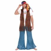 Hippie vest peace long 179kr