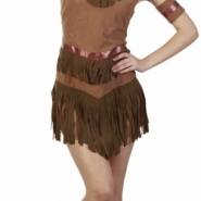 Costume native american one size (42) 229kr