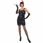 Ladies dress flapper, charleston 20´s size M or L 339kr