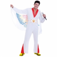 Men costume the king (jumpsuit, belt w detail) size ML 519kr