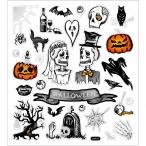 Stickers, 15x16,5 cm, halloween, 1ark 15kr