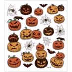 Stickers, 15x16,5 cm, halloweenpumpor, 1ark 15kr