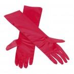 Handskar långa röda 59kr