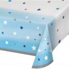 Duk av plast 137x259cm twinkle little star blue 53kr