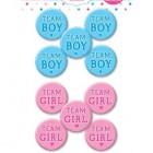 Knappar team boy team girl 10st 66kr